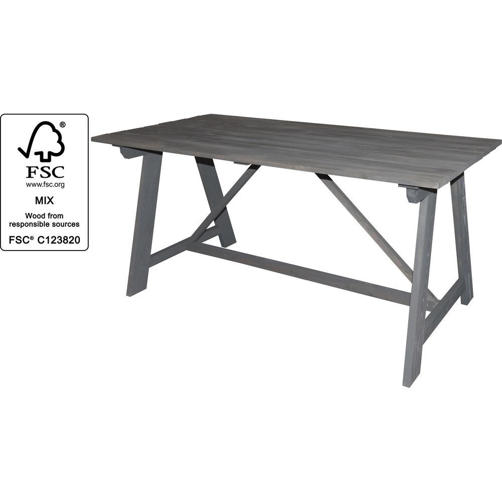 Table de jardin en bois - Meubles de jardin - UNIGRO.be