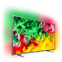 TV LED Ultra HD/4K Smart avec Ambilight 3 côtés 139 cm PHILIPS 55PUS6703
